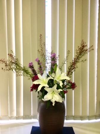 今週(10/22)のえばた歯科のお花